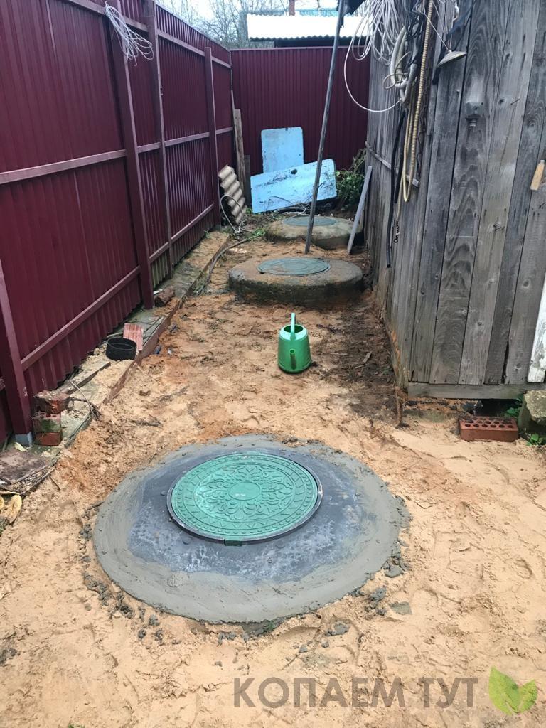 Септик из колец - канализация для дачи
